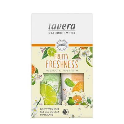 Lavera Fruity Freshness Body Wash Set