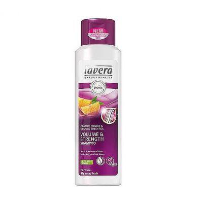 Lavera Hair PRO Σαμπουάν Όγκου Για Λεπτή Και Αδύναμη Τρίχα Με Βιολογικό Πορτοκάλι & Βιολογικό Πράσινο Τσάι 250ml