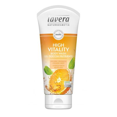 Lavera Αφρόλουτρο High Vitality Orange 200ml