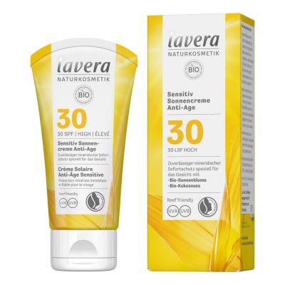 Lavera Αντηλιακή Κρέμα με Αντιγηραντική Δράση SPF30 50ml