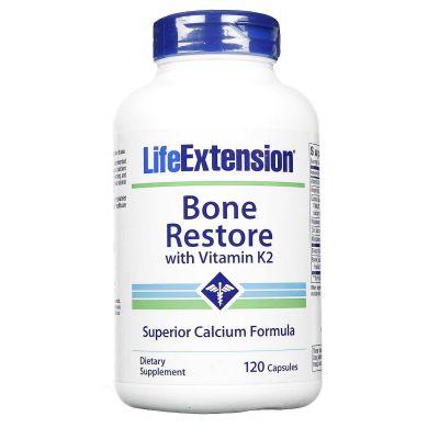 LifeExtension Bone Restore with Vitamin K2 120 Κάψουλες