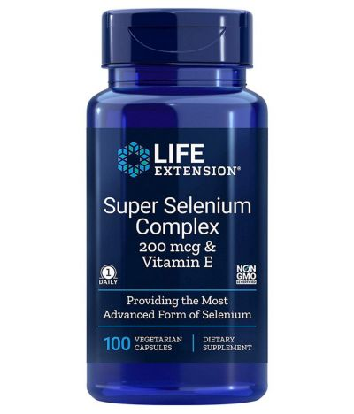 LIife Extension Super Selenium Complex 100 Φυτικές Κάψουλες