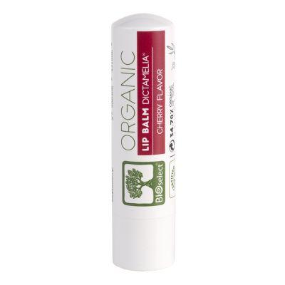 BioSelect Organics 100% Organic Lip Balm Για Τα Χείλη Κεράσι 4,4g