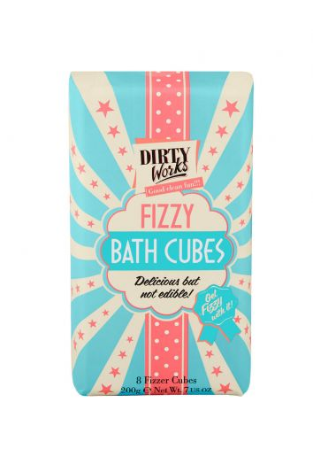 Dirty Works Fizzy Bath Cubes 8 pics