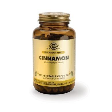 Solgar Cinnamon 100 Φυτικές Κάψουλες