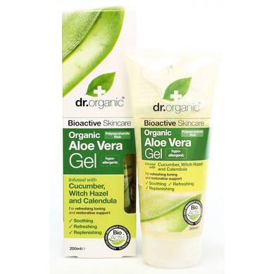 Dr.Organic Organic Aloe Vera Gel with Cucumber & Witch Hazel 200ml