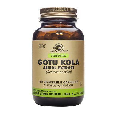 Solgar Gotu Kola Aerial Extract 100 Φυτικές Κάψουλες
