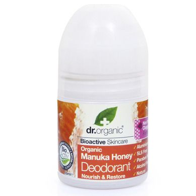 Dr.Organic Manuka Honey Deodorant Roll-On 50ml