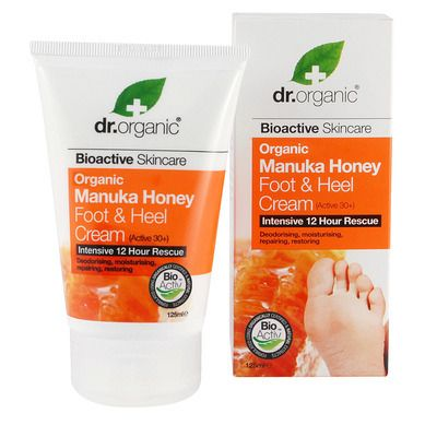 Dr.Organic Manuka Honey Foot Αnd Heel Cream 125m