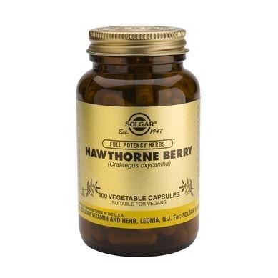 Solgar Hawthorne Berry 100 Φυτικές Κάψουλες