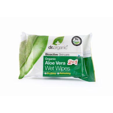 Dr.Organic Aloe Vera Wet Wipes 20s