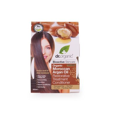 Dr.Organic Organic Moroccan Argan Oil Restorative Treatment Conditioner 200ml