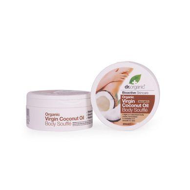 Dr.Organic Virgin Coconut Oil Body Souffle 200ml