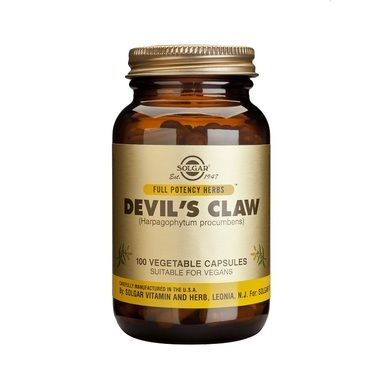 Solgar Devil's Claw 100 Φυτικές Κάψουλες
