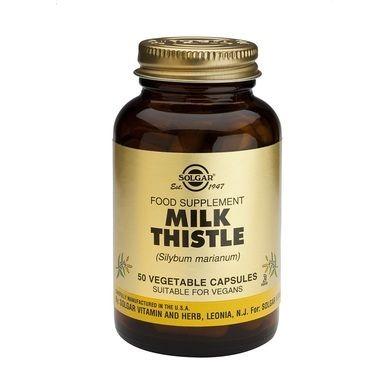 Solgar Milk Thistle 50 Φυτικές Κάψουλες