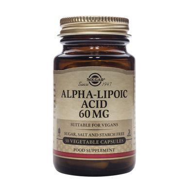 Solgar Alpha Lipoic Acid 200mg 50 Φυτικές Κάψουλες