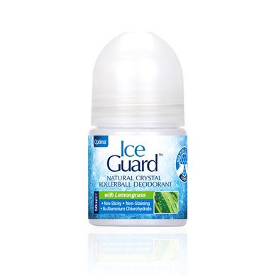 Optima Ice Guard Natural Crystal Deo Lemongrass 50ml