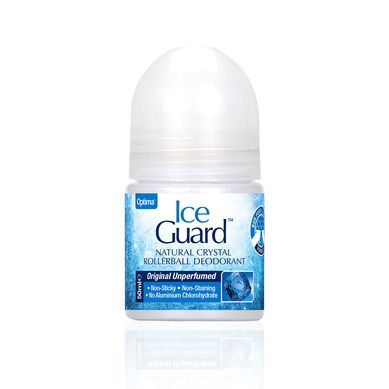 Optima Ice Guard Natural Crystal Deo Unperfumed 50ml