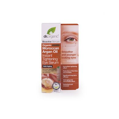Dr.Organic Organic Moroccan Argan Oil Instant Tightening Eye Serum 30ml