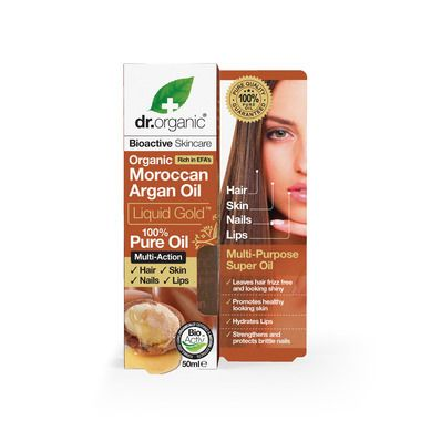 Dr.Organic Moroccan Argan Oil Liquid Gold 50ml