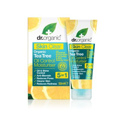 Dr. Organic Skin Clear Organic Tea Tree Oil Control Moisturiser 50ml