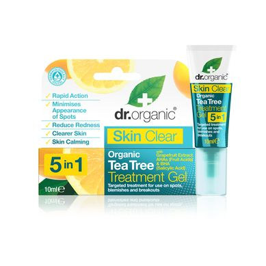 Dr. Organic Skin Clear Organic Tea Tree Treatment Gel 10ml