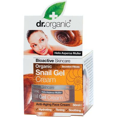 Dr.Organic Snail Gel Face Cream 50ml