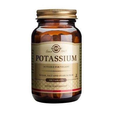 Solgar Potassium 100 Ταμπλέτες