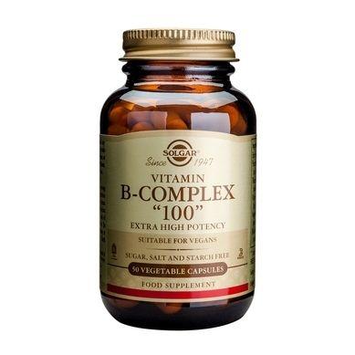 Solgar Vitamin B-Complex with C 100 Ταμπλέτες