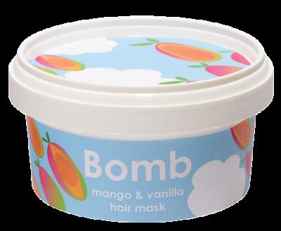 Bomb Cosmetics Mango & Vanilla Hair Mask 210ml