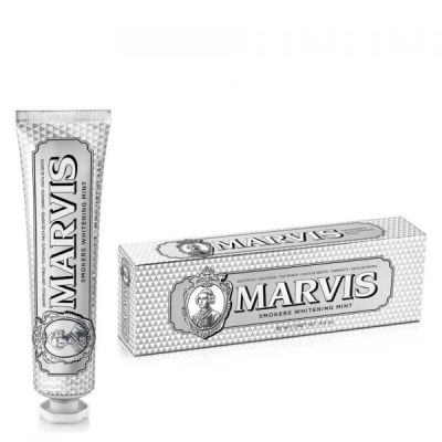 Marvis Οδοντόκρεμα Λεύκανσης smokers whitening mint 85ml