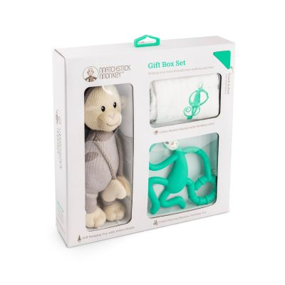 Matchstick Monkey Teething Gift Set