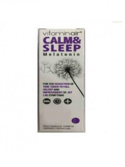 Medicair Vitaminair Calm & Sleep Συμπλήρωμα Διατροφής για την Μείωση του Χρόνου της Έλευσης του Ύπνου 30 Επικαλυμμένα Δισκία