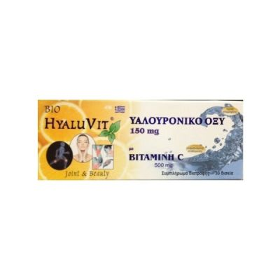 Medichrom Bio Hyaluvit 150mg & Vitamin C 500mg 30 tabs