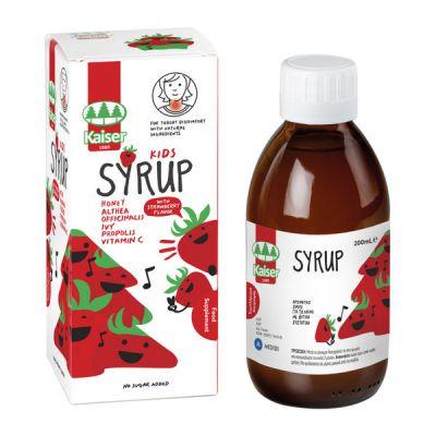 Medisei Kaiser Kids Syrup Γεύση Φράουλα 200ml
