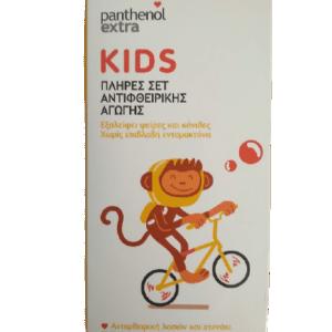 Medisei Panthenol Extra Kids Σετ Αντιφθειρικής Αγωγής + Χτενάκι