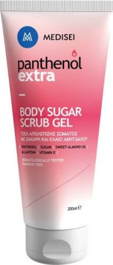 Medisei Panthenol Extra Body Sugar Scrub Gel 200ml