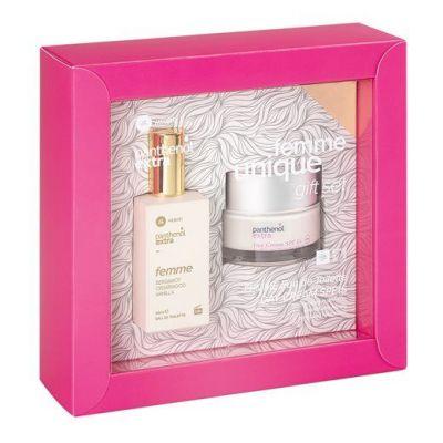 Medisei Panthenol Extra Gift Set - Femme Unique Eau De Toilette 50ml & Day Cream SPF15 50ml