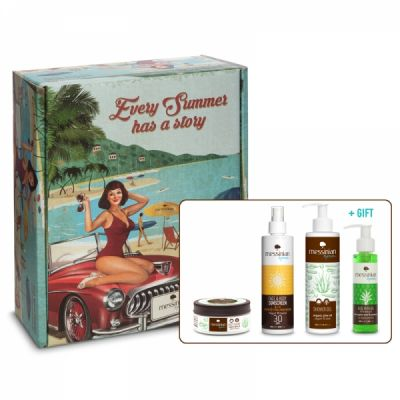 Messinian Spa Vintage Box Aquaholic Summer Essentials