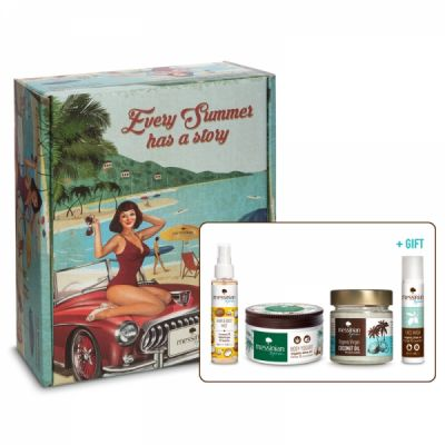 Messinian Spa Vintage Box Ecolife Tropical Vibes