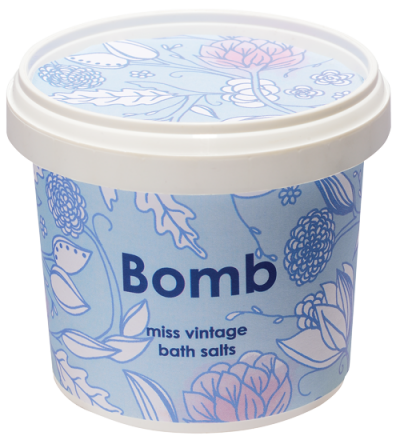 Bomb Cosmetics Miss Vintage Bath Salts 365ml
