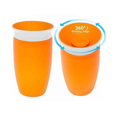 Munchkin Κύπελλο Miracle 360 Sippy Cup 12m+ Πορτοκαλί 296ml