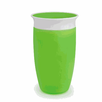Munchkin Κύπελλο Miracle 360 Sippy Cup 12m+ Πράσινο 296ml