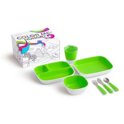 Munchkin Splash Dining Set 7pcs - Πράσινο
