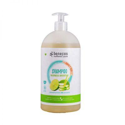 Benecos Φυσικό Σαμπουάν Freshness Adventure με Λάιμ & Αλόη 950ml