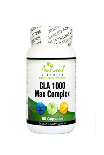 Natural Vitamins CLA 1000 Max Complex 60 Κάψουλες
