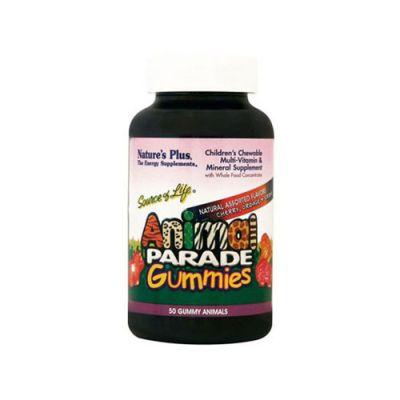 Natures Plus Animal Parade Multi-Vitamin 50 Μασώμενα Ζελεδάκια
