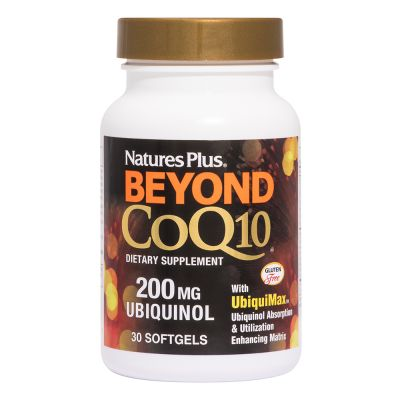 Natures Plus Beyond CoQ10 200mg 30 Μαλακές Κάψουλες