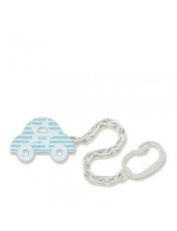 Nuk Αλυσίδα Αυτοκίνητο Μπλε 0+ Μηνών 1τμχ