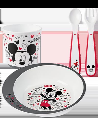 Nuk Disney Mickey εκπαιδευτικό σετ φαγητού 1τμχ